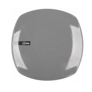 ASSIETTE PLATE GRISE FORNORD 33011 22CM