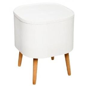 TABLE CAFE COFFRE ZAEL BLANC 140152C JJA