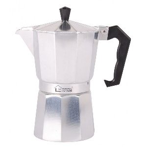 CAFETIERE A L 'ITALIENNE ALUMINIUM 6 TASSES 555221 FORNORD