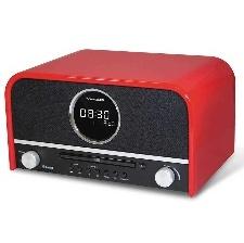 MICRO-CHAINE CD - MP3 SCHNEIDER SC700MCC ROUGE