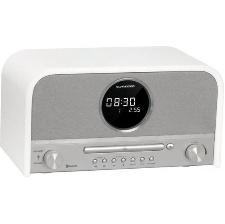 MICRO-CHAINE SCHNEIDER SC700MCCD CD - MP3 BLANC