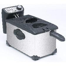FRITEUSE BESTRON ELECTRIQUE SEMI-PROFESSIONNELLE-INOX AF351 5L