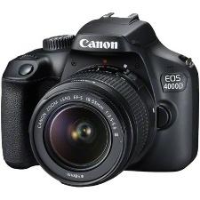 APPAREIL PHOTO NUMERIQUE CANON EOS 4000D KIT EF-S15 55 REFLEX WIFI-HDMI