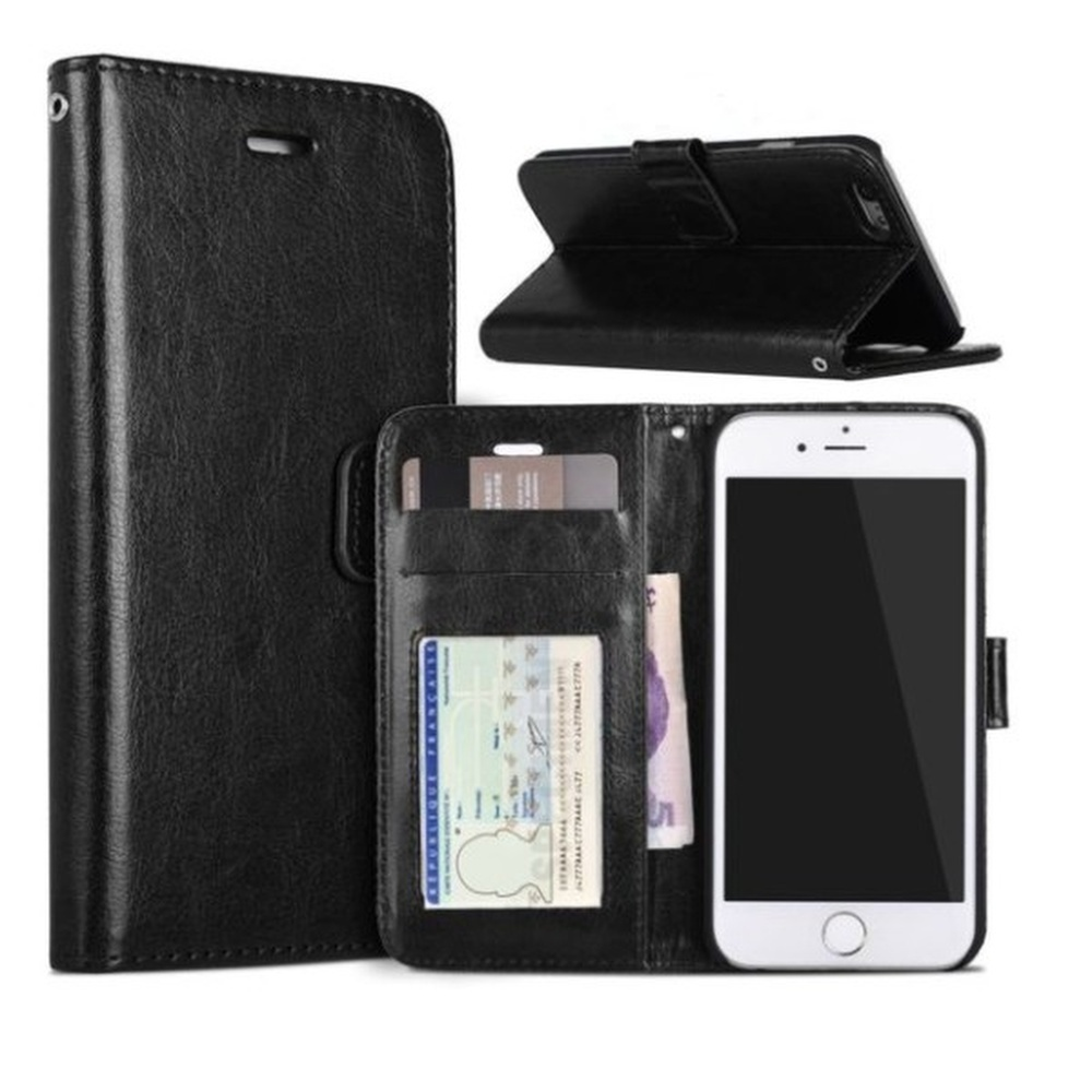 ETUI PORTEFEUILLE IPHONE 6-6S NOIR