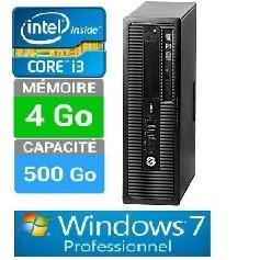 PC HP 600 G1 SFF I3-8GO-500GO W7 PRO