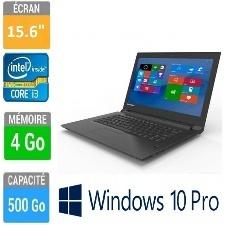 ORDINAREUR LENOVO V110-15ISK 15-6  I3-6006U 4GB-500GO W10 PRO