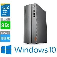 PC LENOVO 510S-08IKL 90GB00DTFR I7-8GO-1TO-W10