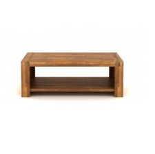 TABLE BASSE ACCACIA WOOD BROWN 120X60XH43CM