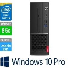 PC LENOVO V530S I3 8 GO-256GBSSD DVD WINDOWS 10 PRO