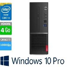 PC LENOVO V530S I3 4GO 1TO DVD WINDOWS 10 PRO