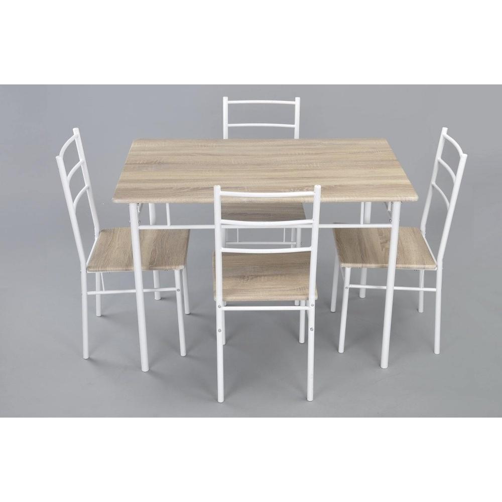 TABLE A MANGER DELIGHT AVEC 4 CHAISES