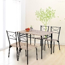 TABLE A MANGER ROME AVEC 4 CHAISES