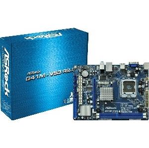 CARTE MERE INTEL ASROCK G41M-VS3 DDR3 LGA775 R2-0