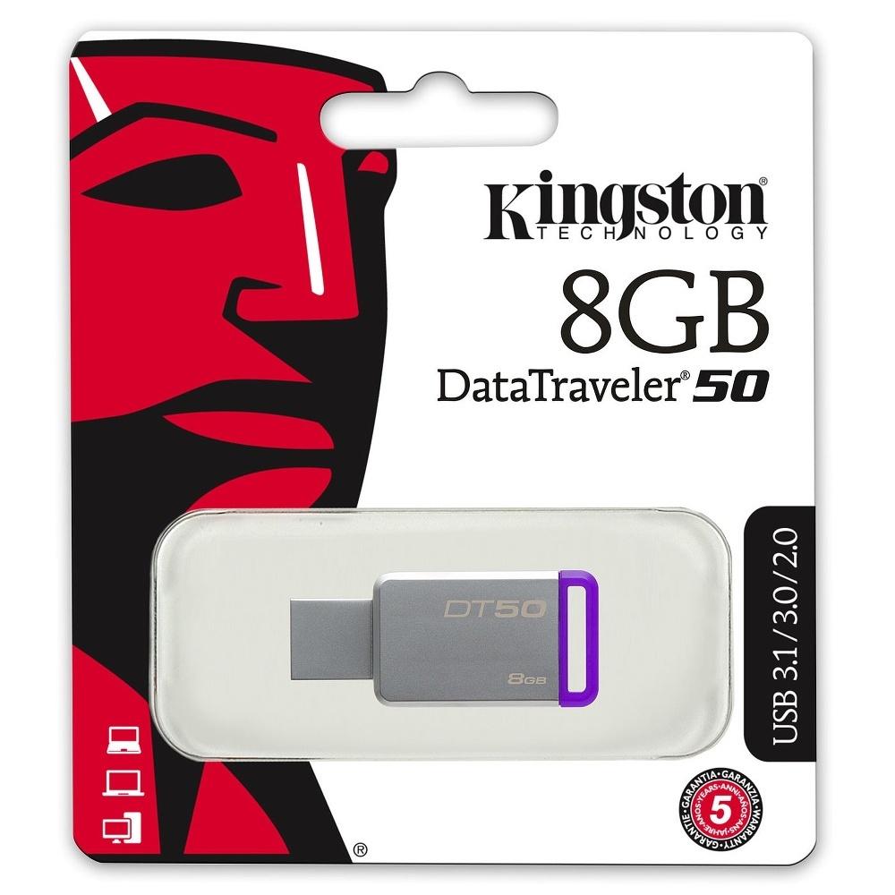 CLE USB3 8GO KINGSTON DT50-8GO