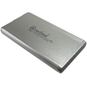 BOITIER 2-5 IDE-SATA USB2 CONNECTLAND BE-USB2-2603