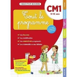 TOUT LE PROGRAMME CM1 - 9-10 ANS  BROCHE