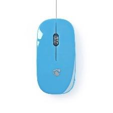 SOURIS FILAIRE USB NEDIS MSWD200BU BLEUE