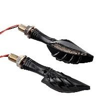 CLIGNOTANT TUN-R REAPER LED NOIR FUME
