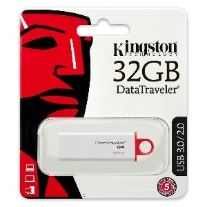 CLE MIMOIRE 32GO KINGSTON TRAVELER G4 - USB-3