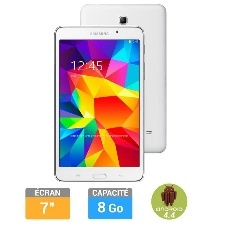 TABLETTE 7  GALAXY TAB 4 BLANCHE 8GO