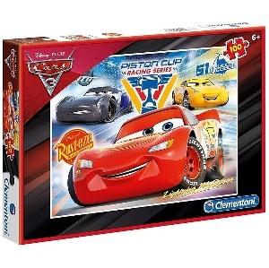 PUZZLE CARS 3 100 PIECES