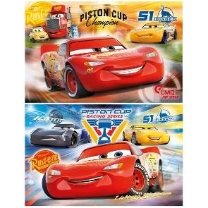 PUZZLE CARS 3 2X20 PIECES