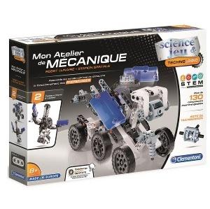 MON ATELIER DE M ROBOT LUNAIRE A PARTIR DE 8 ANS