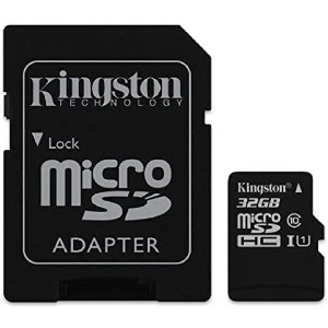 CARTE MICRO SD KINGSTON  32GO CLASSE 10