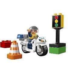 LA MOTO DE POLICE LEGO DUPLO