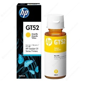 CARTOUCHE HP GT52 JAUNE ORIGINAL 8000 PAGES