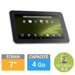 TABLETTE LOGICOM S732 7 4GO BLANCHE