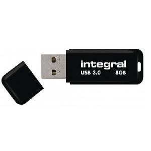 CLE USB3 8GO INTEGRAL INFD8GBBLK3