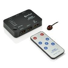 SWITCH HDMI 5 PORTS AVEC  TELECOMMANDE CONNECTLAND