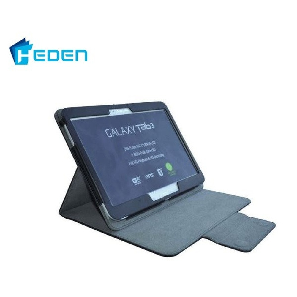ETUI DE PROTECTION TABLETTE 10  HEDEN GALAXY TAB3 NOIR