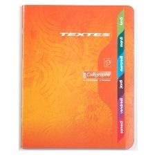 CAHIER TEXTE 120 PAGES GRANDS CARREAUX CLAIREFONTAINE FORMAT 170*220 MM (PETIT FORMAT)