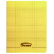 CAHIER 96 PAGES GRANDS CARREAUX CLAIREFONTAINE FORMAT A4 -210*297 MM (GRAND FORMAT)