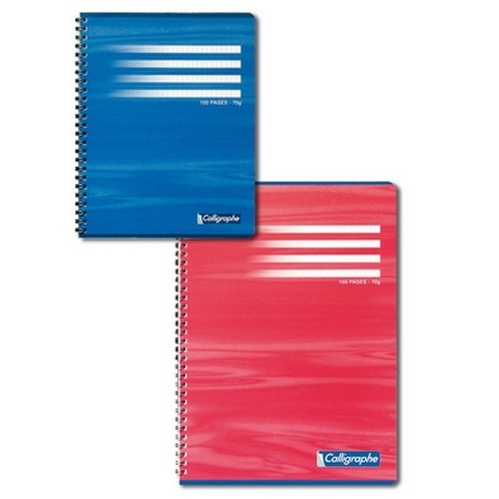 CAHIER 180 PAGES GRANDS CARREAUX CLAIREFONTAINE FORMAT A4 -210*297 MM (GRAND FORMAT)