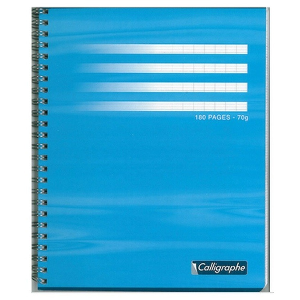 CAHIER 180 PAGES GRANDS CARREAUX CLAIREFONTAINE FORMAT 170* 220 MM