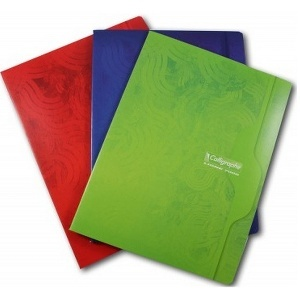 CAHIER 96 PAGES PETITS CARREAUX CLAIREFONTAINE FORMAT A4 -210*297 MM (GRAND FORMAT)
