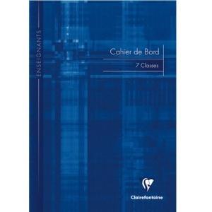 CARNETS DE BORD 110 G RELEVÉS DE NOTES DES ÉLÈVES - CLAIREFONTAINE