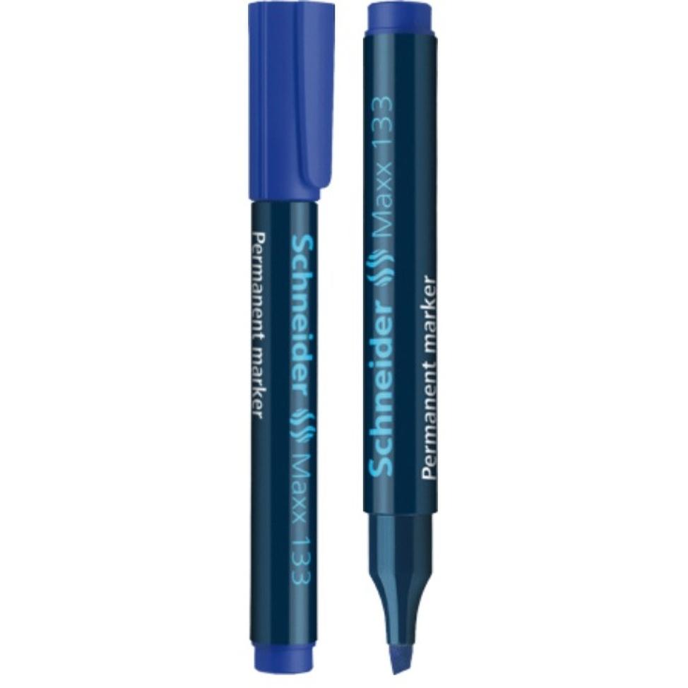 Marqueur Schneider MAXX 133 pointe Biseauté 1 4 mm bleu