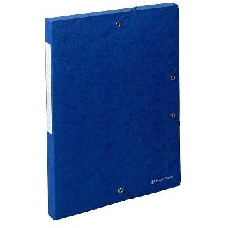 BOITES DE CLASSEMENT SCOTTEN 600 G-M2 FORMAT 240*320 POUR A4 BLEU - DOS 25 MM
