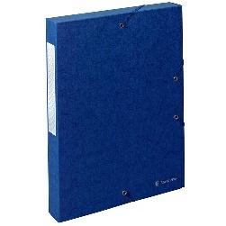 BOITES DE CLASSEMENT SCOTTEN 600 G-M2 FORMAT 240*320 POUR A4 BLEU - DOS 40 MM