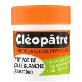 COLLE EN POT 50 G GRAND  POT DE COLLE BLANCHE PARFUMÉE