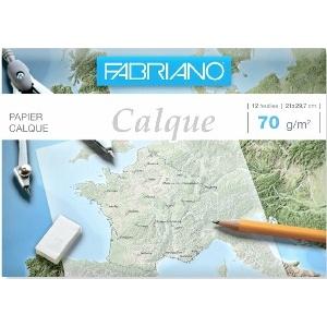 PAPIER CALQUE  FABRIANO FORMAT A4 70G
