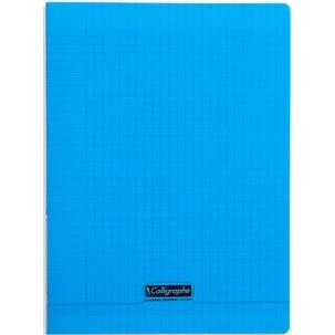 CAHIER 96 PAGES GRANDS CARREAUX CLAIREFONTAINE FORMAT 240*320 MM