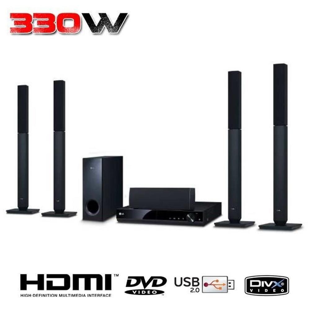 HOME CINEMA LG DH4530T 5-1 DVD 330W