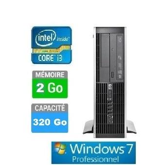 PC HP ELITE 8300 SFF I3-2G-320GO W7 PRO QV997AV