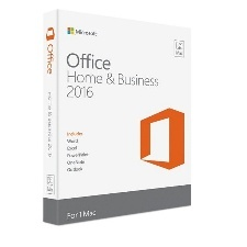 MICROSOFT OFFICE ESD MAC HOME AND BUSINESS 2016