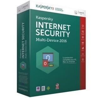 KASPERSKY INTERNET SECURITY 1 POSTE - 1AN